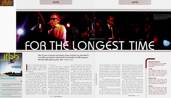 JFBB Magazine Danny V 52nd Street Band Article